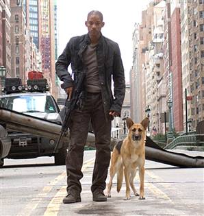 I Am Legend Will Smith I am Legend -While Will Smith